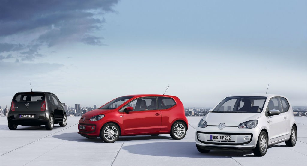 Volkswagen up! primer auto