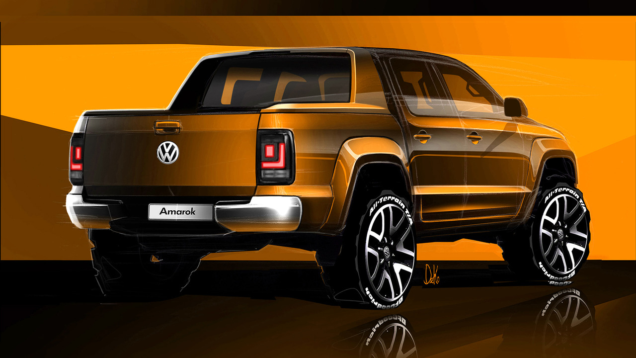 volkswagen prepara la amarok 2017 motorbit. Black Bedroom Furniture Sets. Home Design Ideas