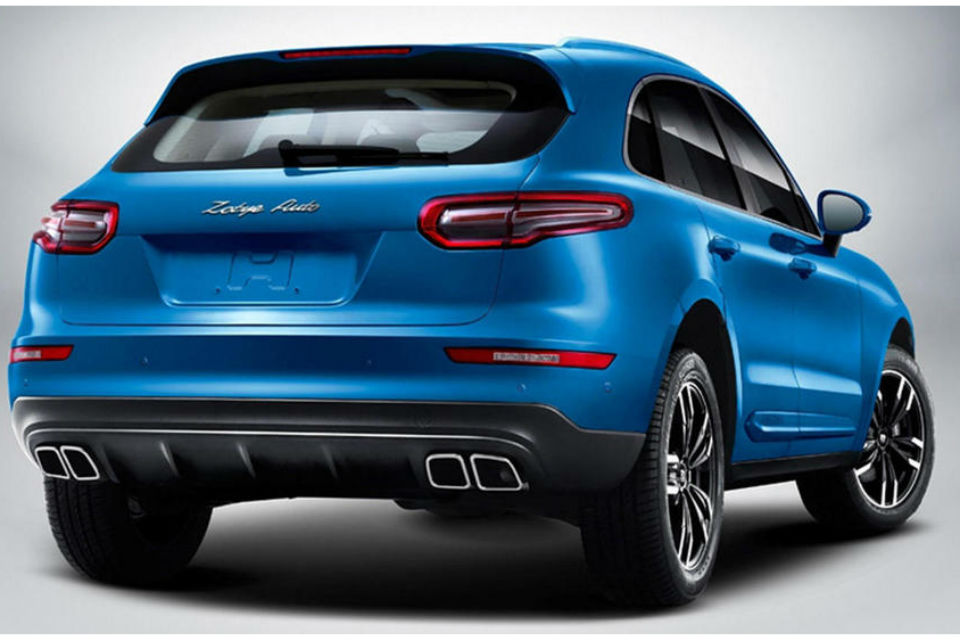 ZOTYE SR9 copia china del Porsche Macan