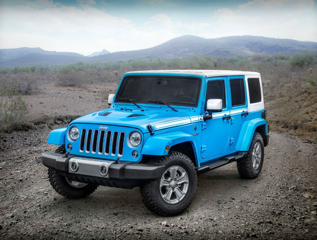 Jeep Wrangler Unlimited Chief Edition 2017