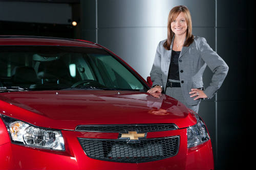 Mary Barra, CEO de GM