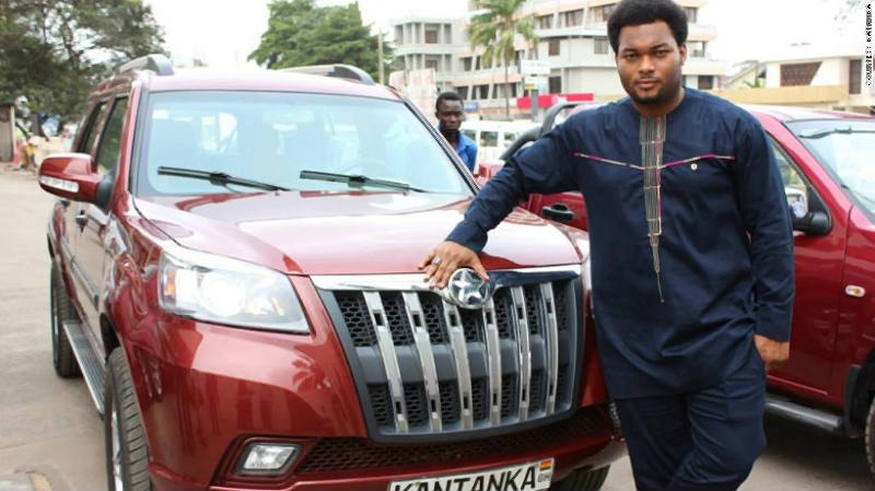 Kwado Safo junior, CEO de Kantanka Group