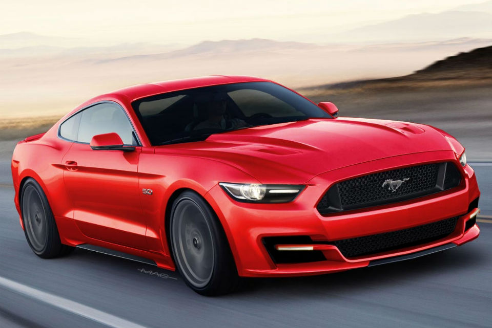 2016-Ford-Mustang-GT-Red-Colors-Photo-Wallpaper