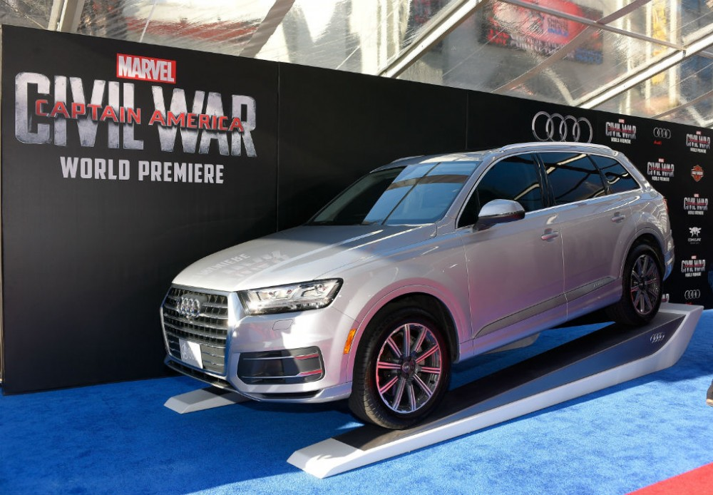 Audi SQ7 Civil War