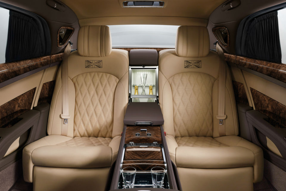 gigafoto con un bentley mulsanne extended wheelbase como. Black Bedroom Furniture Sets. Home Design Ideas