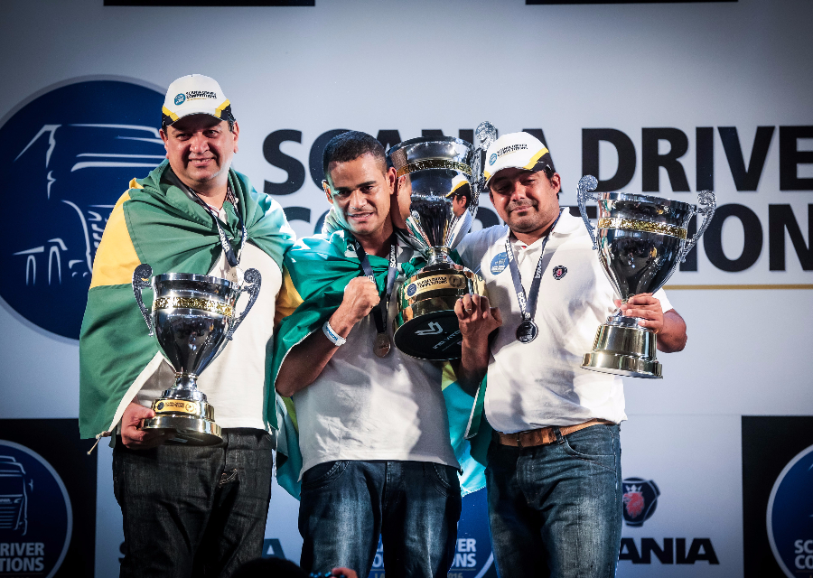 Scania Driver Competitions Latin America 2016