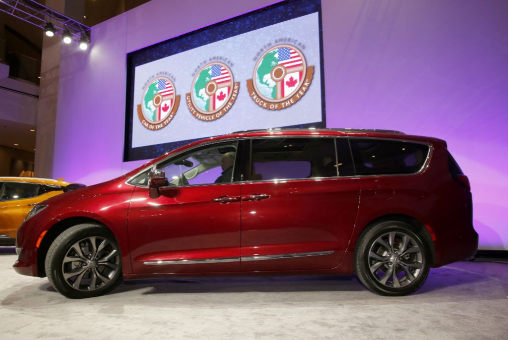 Chrysler Pacifica NAIAS 2017