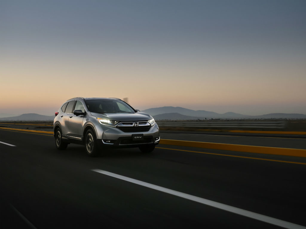 Honda CR-V todo terreno